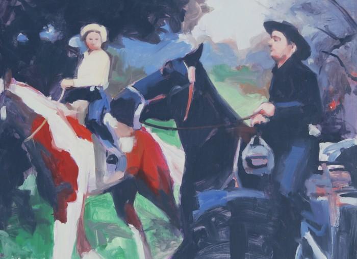 Equestrian Courtship
